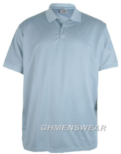 Mesh Polo Shirt SKY BLUE